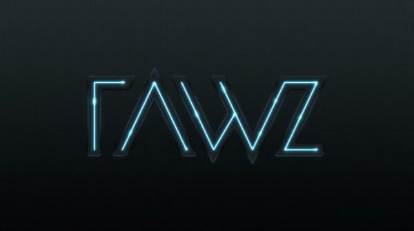 RAWZ Photoshop Lighting Effect'