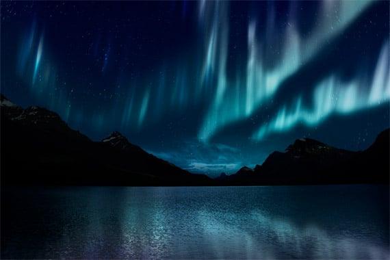 Recreate the Aurora Borealis