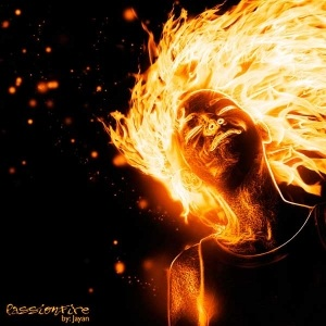Flaming Photo Manipulation Photoshop Effect