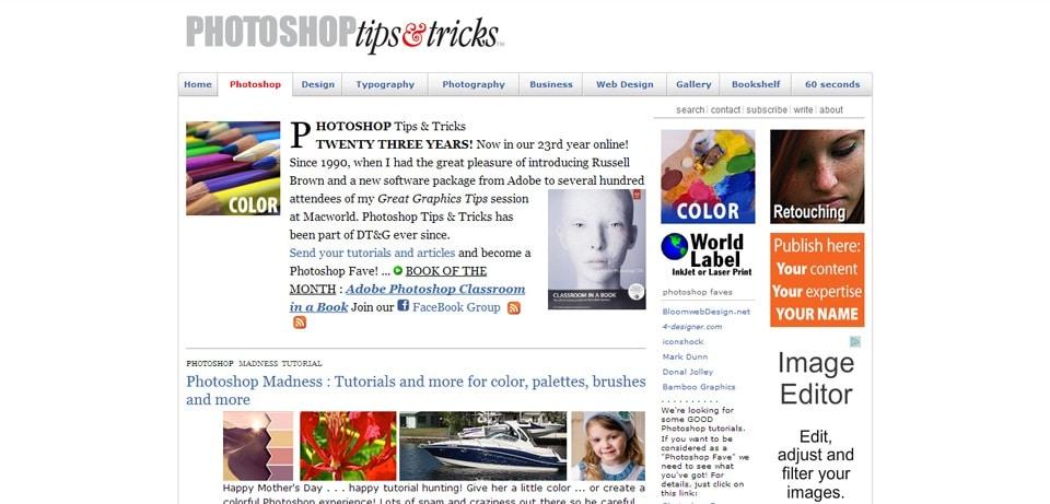 Photoshop Tips Tricks Photoshop Tutorial Website