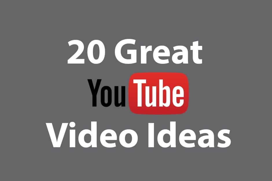 20 great youtube video ideas for Youtube intro ideas