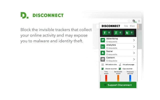 Disconnect Chrome Extension