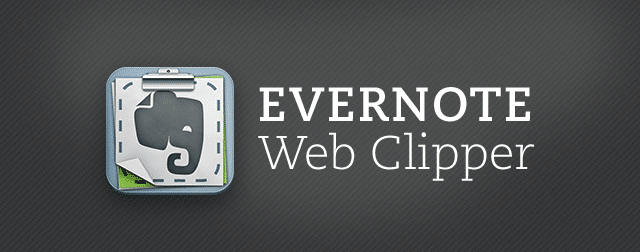Evernote Web Clipper Chrome Extension