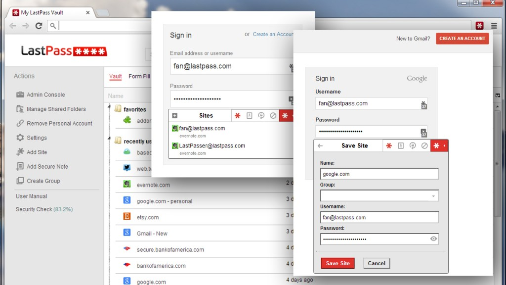 LastPass Chrome Extension
