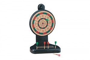 10.5 Inch 8 Option Decision Maker Cork Board Game with 6 Mini Darts Office Gift Ideas