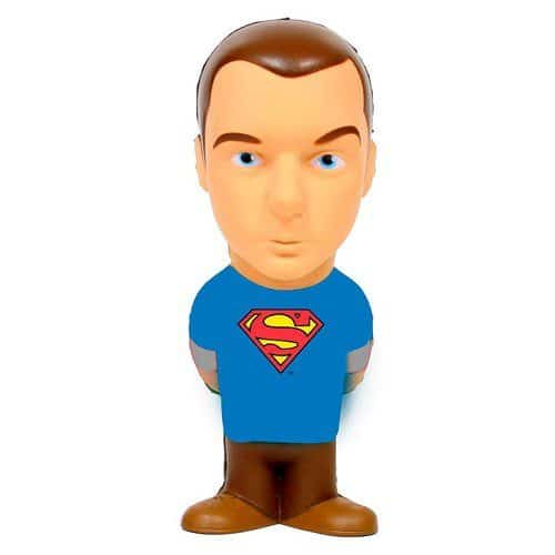 Big Bang Theory Sheldon Cooper Superman Stress Toy Office Desk Accessory