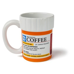 BigMouth Inc The Prescription Coffee Mug Office Gift Ideas
