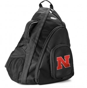 NEBRASKA CORNHUSKERS 15-IN. LAPTOP SLING BACKPACK Cool Laptop Bags