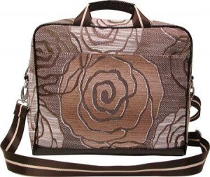 WOMEN'S MELLOW WORLD HB1139 - ROSE BROWN COMPUTER BAGS Cool Laptop Bags
