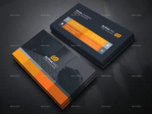 Graphic Designer Examples of Professional Business Card Designs