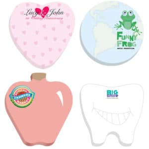 adhesive die cut notepads inexpensive promotional product ideas
