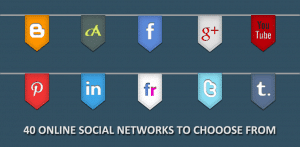 40 Online Social Networks to Choose From