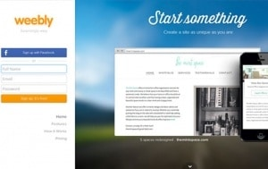 Free Blog Sites Weebly