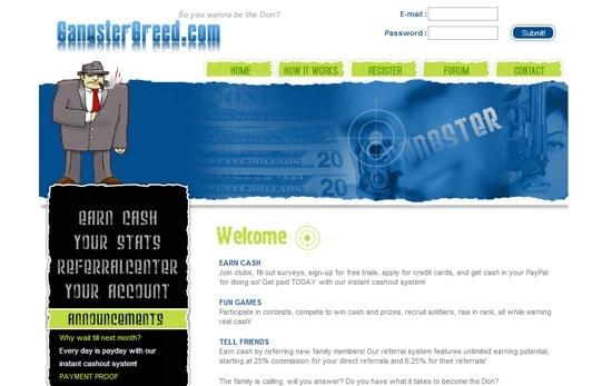 Best Survey Sites Gangster Greed