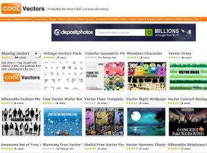 CoolVectors Free Vector Download site