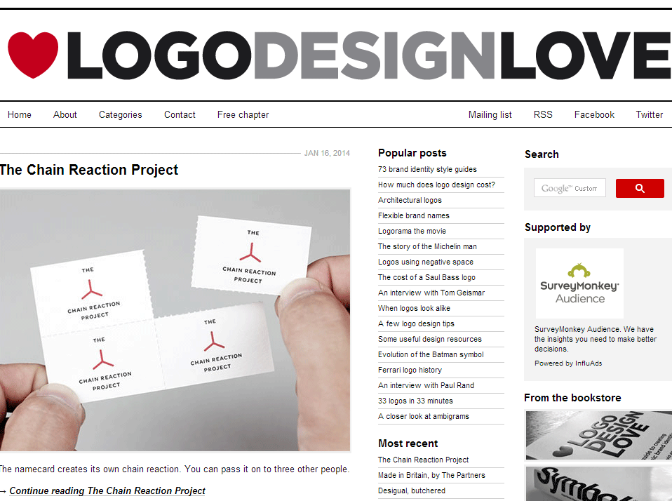 LogoDesignLove Logo Design Inspiration