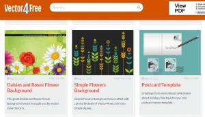 Vector4free top free vector download sites