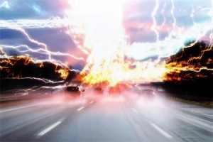 End of the World Photoshop Lighting Effects