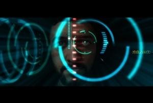 Iron Man View Interface Effect