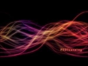 Luminescent Lines Photoshop Lighting Effect