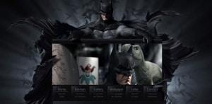 Batman 3D Parallax Scrolling Effect