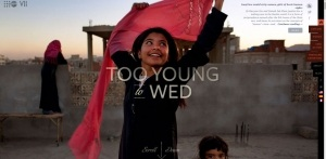 Too Young To Wed Parallax Scrolling Effect