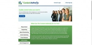 The Content Authority Freelance Writer