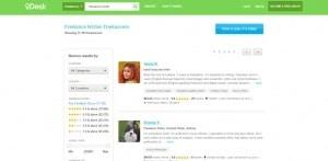 oDesk Freelance Writer