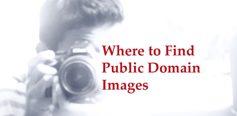 Where to Find Public Domain Images