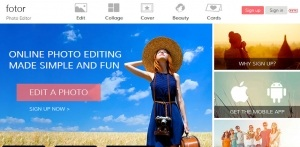 Fotor Free Photo Editors