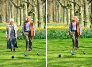 Remove a Person Background Landscape Photoshop Effect Tutorial