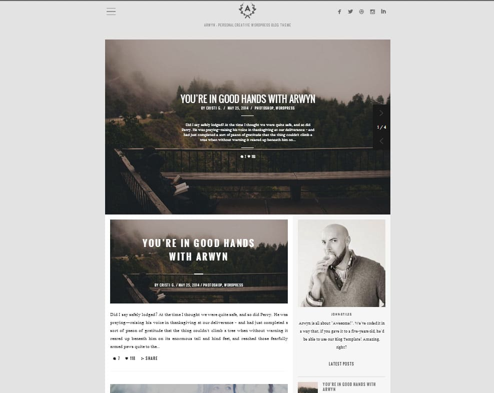 Arwyn-Top-Rated-Wordpress-Themes-for-Bloggers
