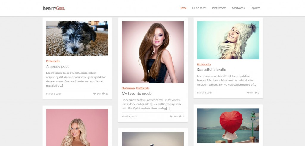 InfinityGrid-Top-Rated-Wordpress-Themes-for-Bloggers