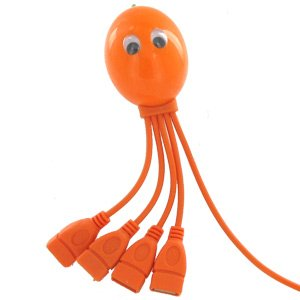 Octopus 4 Port USB Hub desk gadget