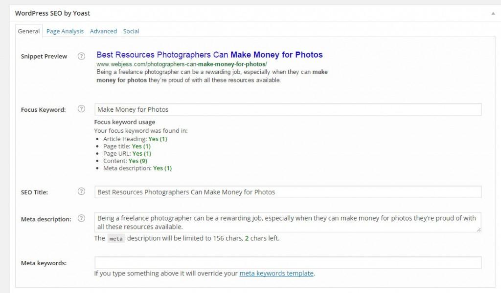 SEO by Yoast Best Plugins WordPress