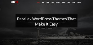 Parallax WordPress Themes That Make It Easy