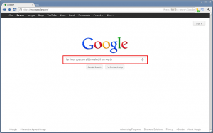 Google Quick Scroll Chrome Extension