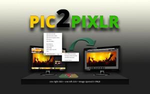 Pic2Pixlr Chrome Extension
