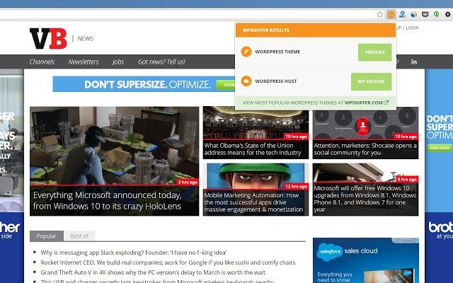 WPSNIFFER Chrome Extension
