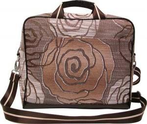 WOMEN'S MELLOW WORLD HB1139 - ROSE BROWN COMPUTER BAGS Cool Laptop Bags