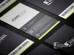 Clean Metro Style Examples of Professional Business Card Designs