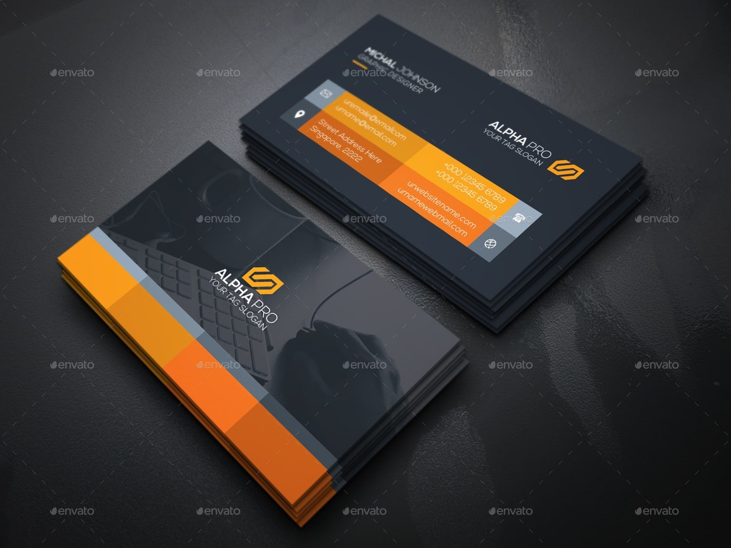 Graphic Designer Examples of Professional Business Card Designs ...