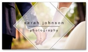 Minimal Wedding Photographer Examples of Professional Business Card Designs