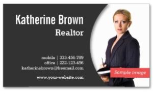 Modern Professional Realtor Examples of Professional Business Card Designs