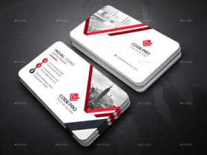 Professional Code Pro Examples of Professional Business Card Designs