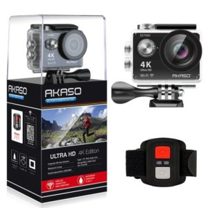 AKASO EK7000 4K WIFI Sports Action Waterproof Camera Awesome 2018 Gadgets to Bring in the New Year