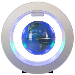 Senders Floating Globe with LED Lights Magnetic Levitation Floating Globe World Map for Desk Awesome 2018 Gadgets to Bring in the New Year