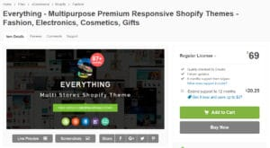 Everything Best Premium Shopify Themes