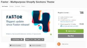 Fastor Best Premium Shopify Themes