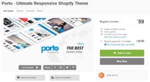 Porto Best Premium Shopify Themes